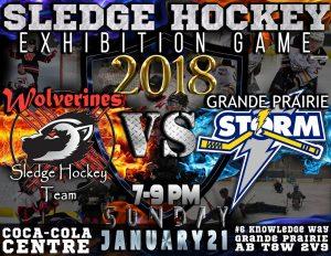 Sledge Hockey Exhibition Game @ Coca-Cola Centre